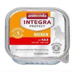 Консервы Animonda Integra Renal с телятиной для кошек при хронической почечной недостаточности - фото 14305