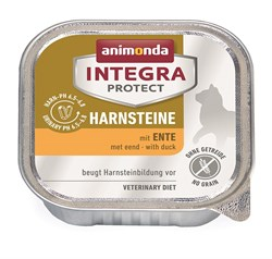 Консервы Animonda Integra Urinary c уткой для кошек при мочекаменной болезни - фото 14306