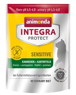 Сухой корм Animonda Integra Sensitive для кошек при пищевой аллергии - фото 14317