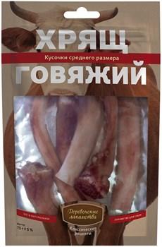 """Деревенские лакомства """"Классические рецепты"""" для собак - Хрящ говяжий, средний размер - фото 14381"""