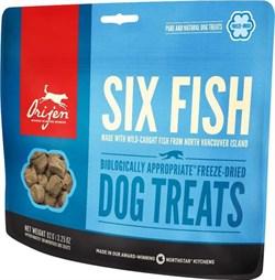 Лакомство Orijen FD Six Fish Dog  для щенков и собак - фото 14534