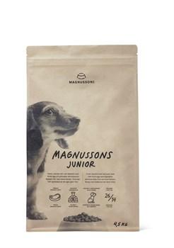 Сухой корм MAGNUSSONs Junior для щенков - фото 14854
