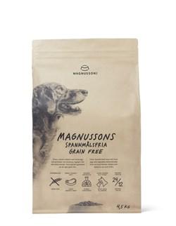 Беззерновой cухой корм MAGNUSSONs Grain Free – Adult для взрослых собак всех пород - фото 14859