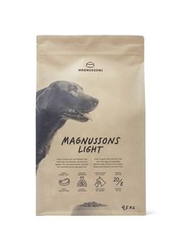 Сухой корм MAGNUSSONs Light для собак – контроль веса - фото 14861
