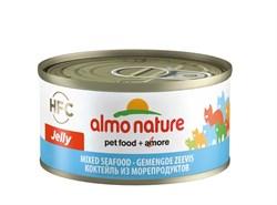 Консервы ALMO NATURE HFC Jelly Adult Cat Mixed Seafood для взрослых кошек с морепродуктами - фото 14875