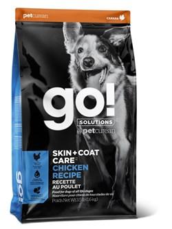 Сухой корм GO! NATURAL для щенков и взрослых собак с цельной курицей, фруктами и овощами - фото 14897