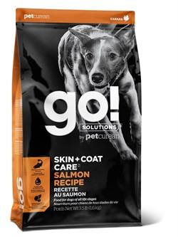 Сухой корм GO! NATURAL для щенков и взрослых собак со свежим лососем и овсянкой - фото 14898
