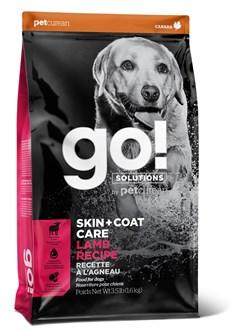 Сухой корм GO! NATURAL для щенков и взрослых собак со свежим ягненком - фото 14899