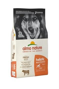 Сухой корм ALMO NATURE Large Adult Beef and Rice для взрослых собак крупных пород с говядиной - фото 15114