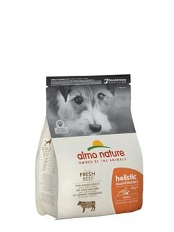 Сухой корм ALMO NATURE Small Beef and Rice для взрослых собак малых пород с говядиной - фото 15115