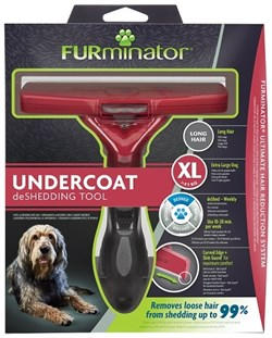 FURminator XL для собак гигантских пород с длинной шерстью (FUR Dog Undercoat XL Long Hair) - фото 15124