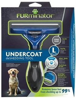 FURminator L для собак крупных пород с длинной шерстью (FUR Dog Undercoat L Long Hair) - фото 15126