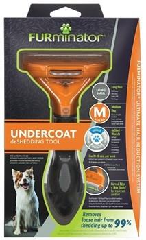 FURminator M для собак средних пород с длинной шерстью (FUR Dog Undercoat M Long Hair) - фото 15128