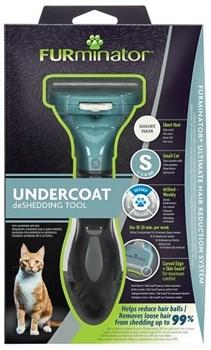 FURminator S для маленьких кошек с короткой шерстью (FUR Cat Undercoat S Short Hair) - фото 15134