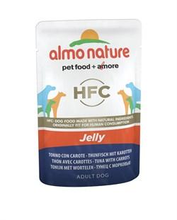 Пауч ALMO NATURE Classic Jelly Tuna and Carrots для собак тунец и морковь в желе - фото 15173