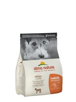 Сухой корм ALMO NATURE Small Lamb для взрослых собак малых пород с ягненком - фото 15199