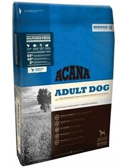 Беззерновой сухой корм ACANA Heritage Adult Dog для взрослых собак всех пород с цыпленком и зеленью - фото 15211