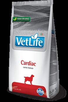 Сухой корм FARMINA VET LIFE CARDIAC для собак диета при сердечно-сосудистых заболеваниях - фото 15263