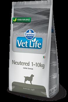 Сухой корм FARMINA VET LIFE Neutered для кастрированных, стерилизованных собак весом до 10 кг - фото 15276