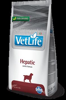 Сухой корм FARMINA VET LIFE Hepatic для собак диета при заболеваниях печени - фото 15278