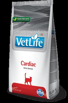 Сухой корм FARMINA VET LIFE CARDIAC для кошек диета при сердечно-сосудистых заболеваниях - фото 15305