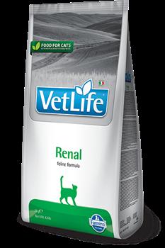 Сухой корм FARMINA VET LIFE RENAL для кошек диета при заболеваниях почек - фото 15307
