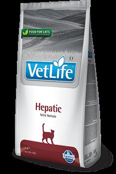 Сухой корм FARMINA VET LIFE Hepatic для кошек диета при заболеваниях печени - фото 15308