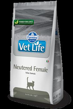 Сухой корм FARMINA VET LIFE Neutered Female диета для стерилизованных кошек - фото 15315
