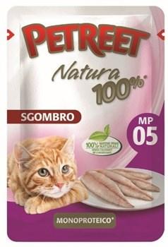 Пауч PETREET для взрослых кошек со скумбрией - фото 15405
