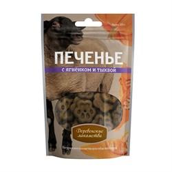 Печенье для собак Деревенские лакомства с ягненком и тыквой - фото 15617
