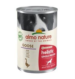Консервы ALMO NATURE для собак с чувствительным пищеварением с гусем (Holistic Wet Dog Digestive help - Single Protein - Goose) - фото 15644