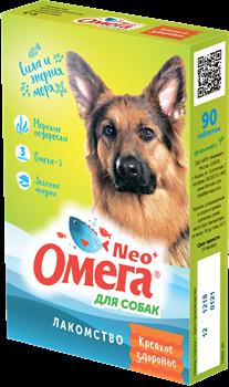 """Витанимизированное лакомство ОМЕГА NEO для собак с морскими водорослями """"Крепкое здоровье"""" - фото 16174"""
