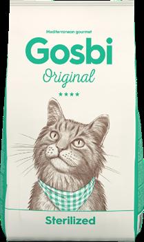 Сухой корм GOSBI Original для стерилизованных кошек и кошек склонных к лишнему весу с курицей - фото 16530