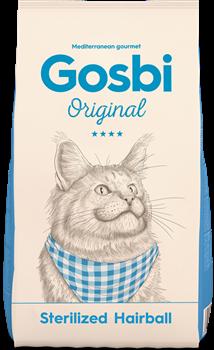 Сухой корм GOSBI Original для стерилизованных кошек для вывода шерсти с курицей (Sterilized Hairball Cat) - фото 16537