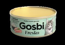 Консервы GOSBI FRESKO для стерилизованных кошек с курицей и рисом - фото 16543