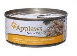 Консервы APPLAWS для взрослых кошек с куриной грудкой Cat Chicken Breast - фото 17014