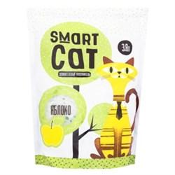 Силикагелевый наполнитель SMART CAT с ароматом яблока - фото 17403