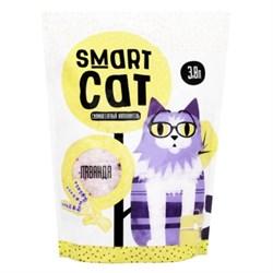 Силикагелевый наполнитель SMART CAT с ароматом лаванды - фото 17404