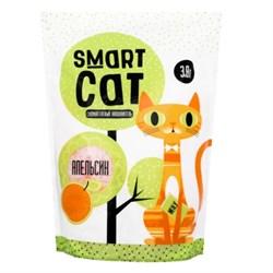 Силикагелевый наполнитель SMART CAT с ароматом апельсина - фото 17406