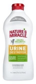 Уничтожитель пятен, запахов и осадка от мочи собак 8in1 Nature's Miracle Urine Destroyer - фото 17588