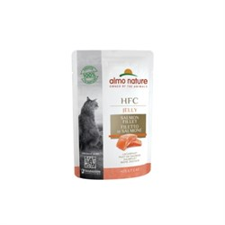 Пауч ALMO NATURE для взрослых кошек лосось в желе Classic Nature Jelly – Salmon