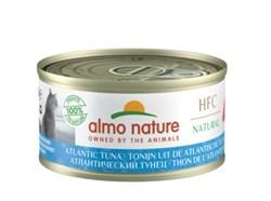 Консервы ALMO NATURE для взрослых кошек с атлантическим тунцом  Legend Adult Cat Atlantic Tuna