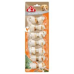 Косточки для мелких собак 8in1 DELIGHTS XS 7,5 см 7 шт - фото 18610