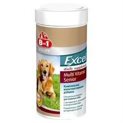 """""""8 in 1"""" Эксель Мультивитамины для пожилых собак 70 таб. - фото 18628"""