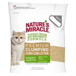Комкующийся кукурузный наполнитель 8in1 Nature's Miracle Premium Natural Care для кошачьего туалета - фото 18631