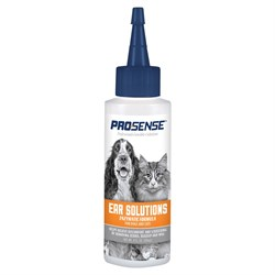 Гигиенический лосьон для чистки ушей для кошек и собак 8 in 1  Pro-Sense 118 мл - фото 18642