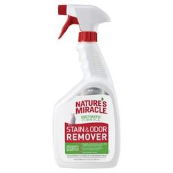 Уничтожитель пятен и запахов от кошек 8in1 Nature's Miracle Remover Spray спрей 945 мл