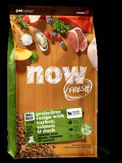 Беззерновой сухой корм NOW Fresh для пожилых собак/контроль веса малых пород с индейкой, уткой и овощами Grain Free Small Breed Senior Recipe