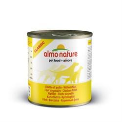 Консервы ALMO NATURE Classic Chicken Fillet для взрослых собак с куриным филе - фото 4488
