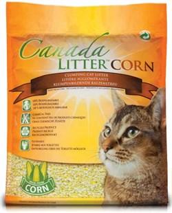 Наполнитель Canada Litter: комкующийся, кукурузный, БИО (Bio Corn Clumping Litter) - фото 4551